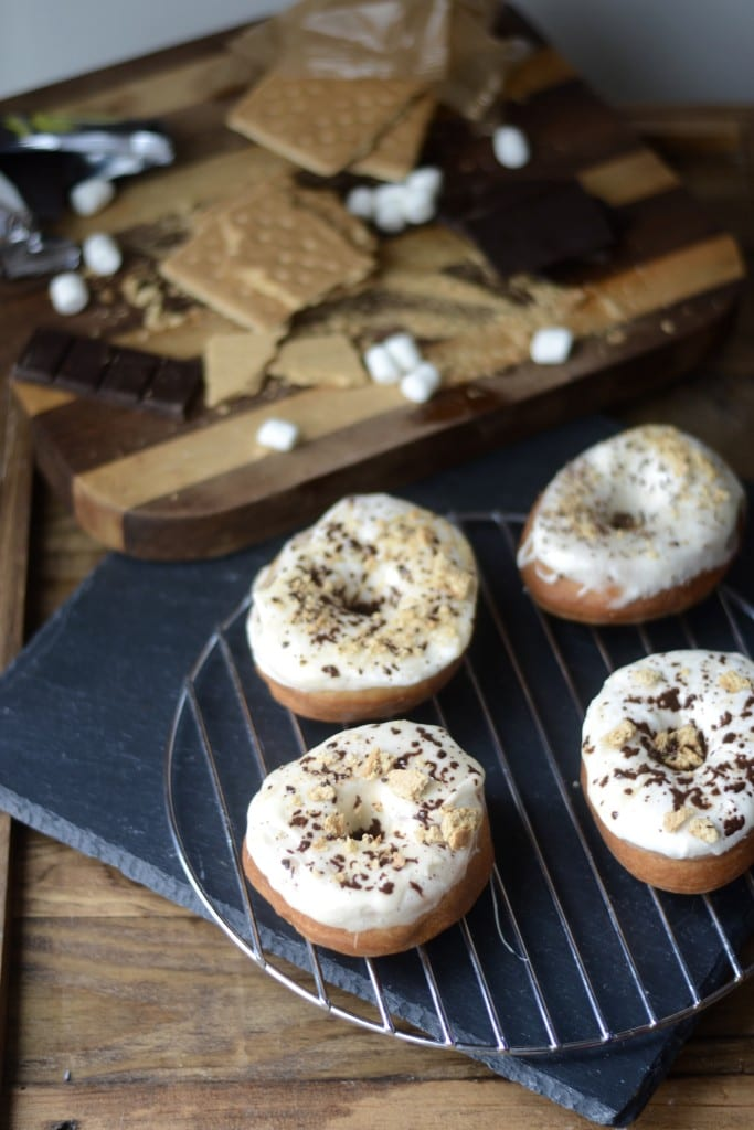 S'Mores Doughnuts | Sarcastic Cooking