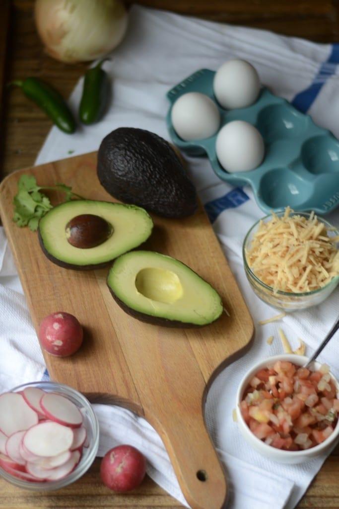 Carnitas Eggs Benedict Fixins - Sarcastic Cooking