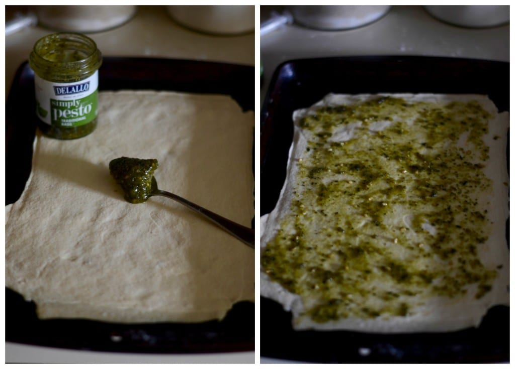 Pesto Crescent Roll Dough