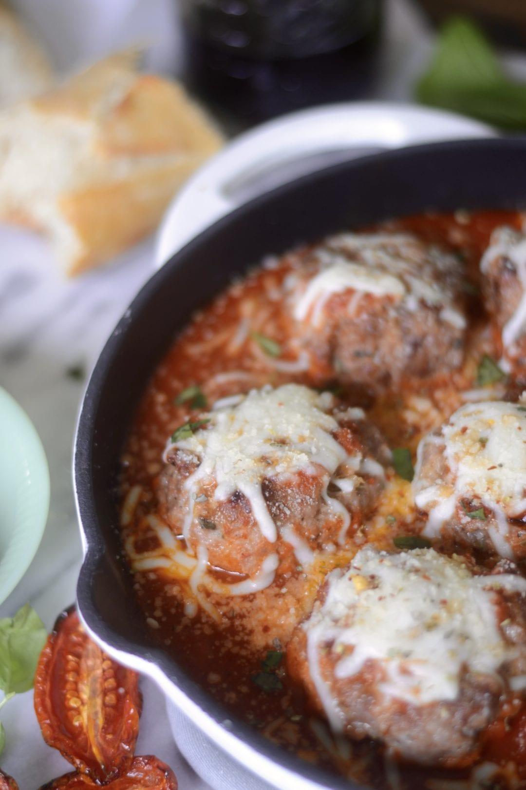 Big Ass Burrata Stuffed Meatballs | Sarcastic Cooking
