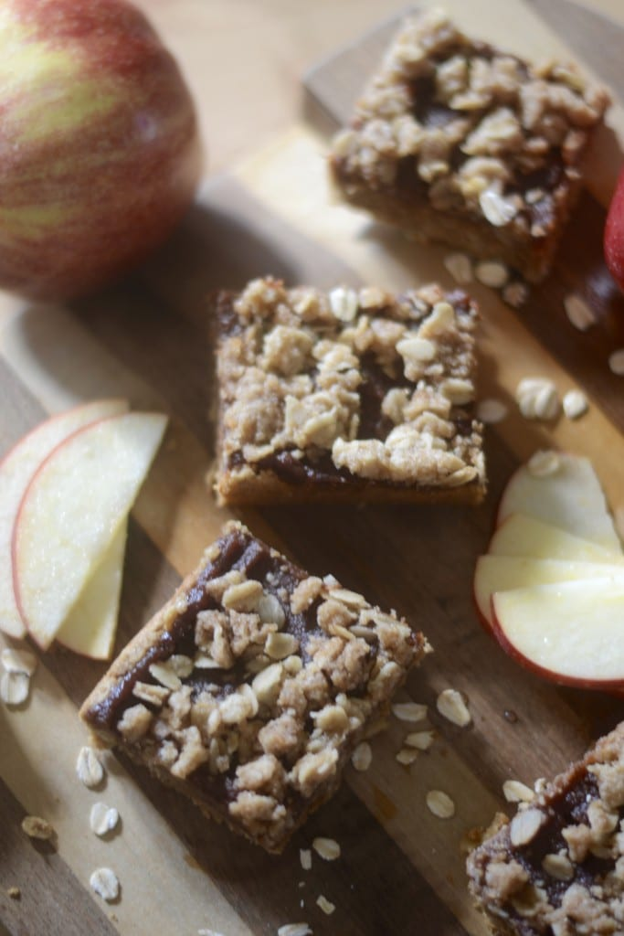 Oatmeal - Apple Butter Squares | Sarcastic Cooking