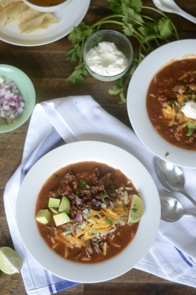 Meat-lover's Chili: Slow Cooker Carne Asada Chili - Sarcastic Cooking