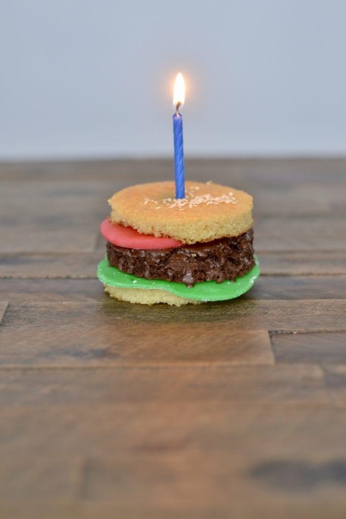 Mini Burger Cakes | Sarcastic Cooking
