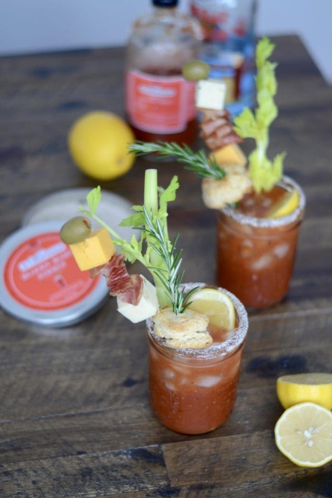 Lemon Pepper Rosemary Bloody Mary @stirringsmixer | Sarcastic Cooking #STIRRINGSMIXOLOGYCONTEST