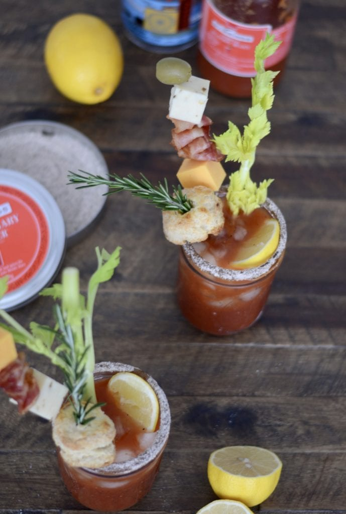 #STIRRINGSMIXOLOGYCONTEST Lemon Pepper Rosemary Bloody Mary @stirringsmixers | Sarcastic Cooking (4 Ingredients)