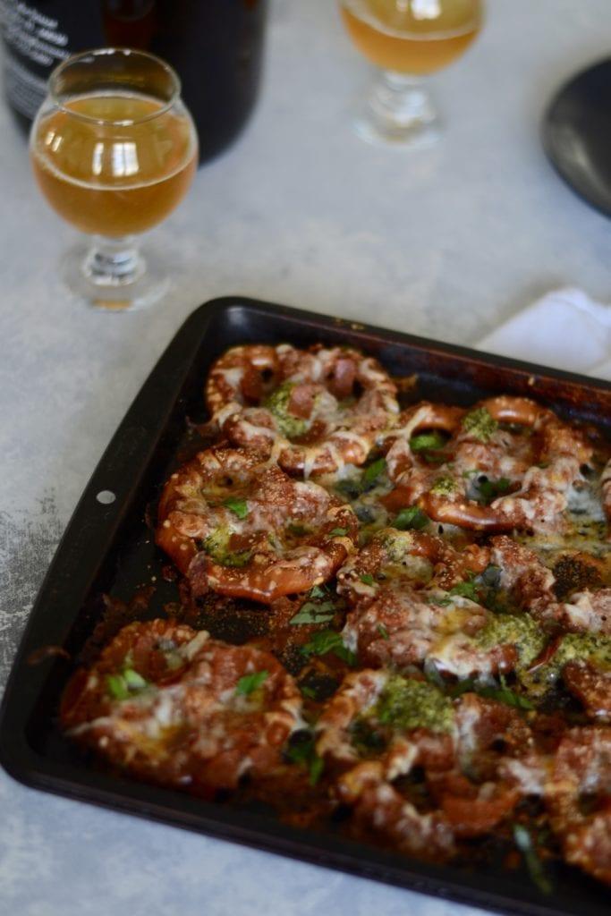Pepperoni Pizza Pretzels   Sarcastic Cooking