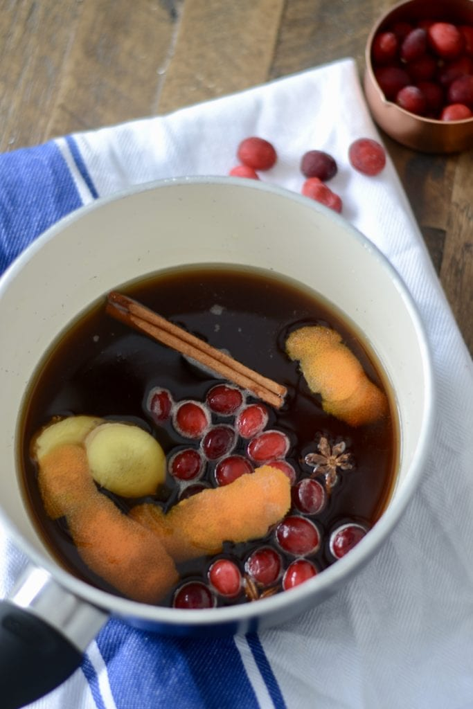 Spiced Brown Sugar Cranberry Simple Syrup | Sarcastic Cooking
