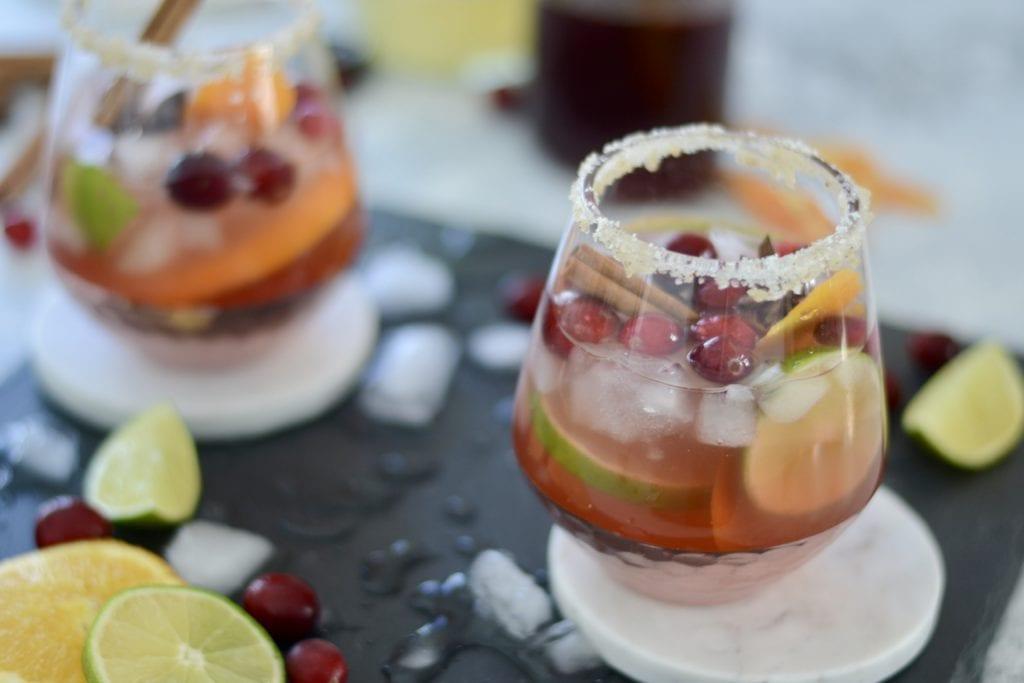 Spicy Cranberry Margaritas   Sarcastic Cooking