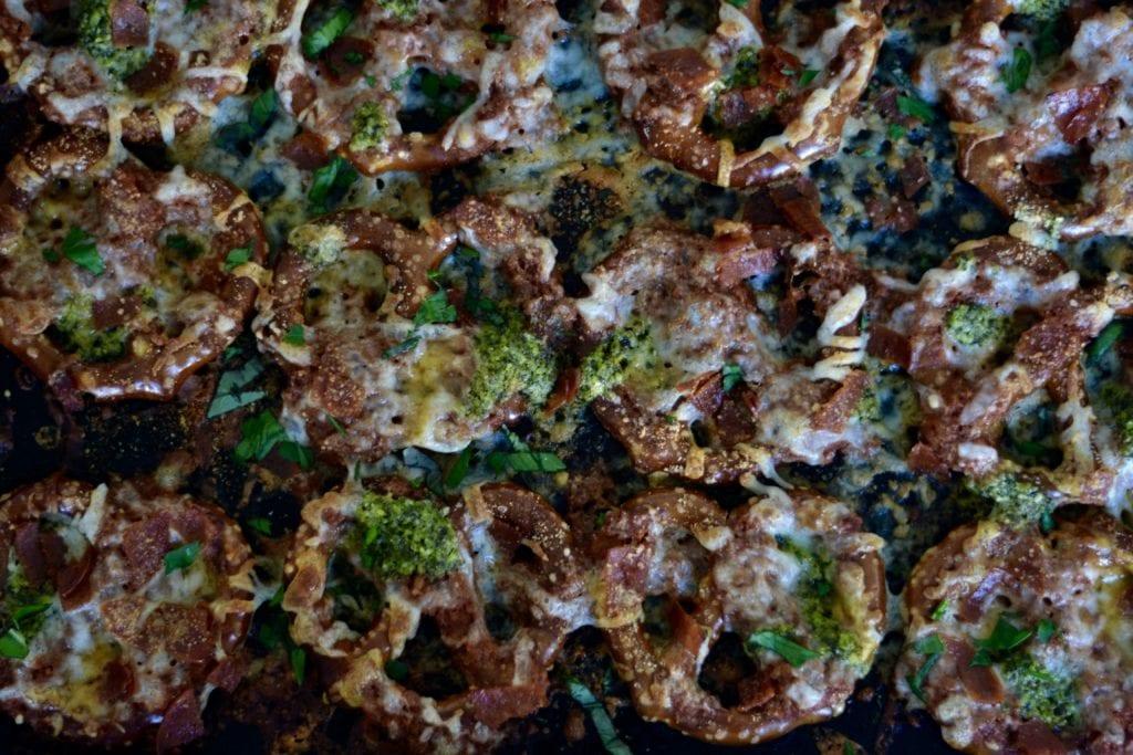 Pepperoni Pizza Pretzels (15 minutes and done!) - @sarcasticcook