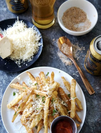 Copycat HopCat Crack Fries - beer battered french fries
