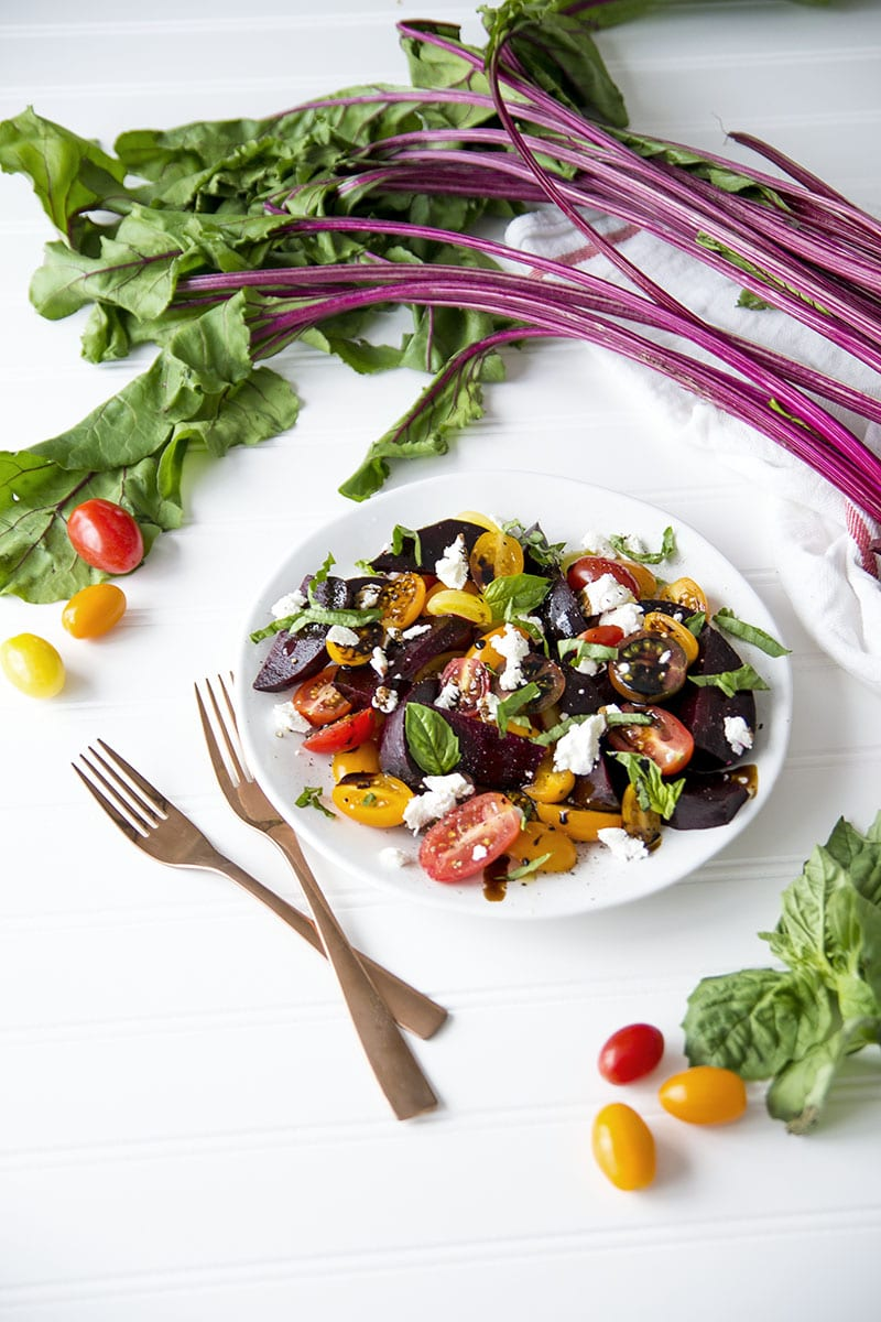 how to make beet salad with goat cheese