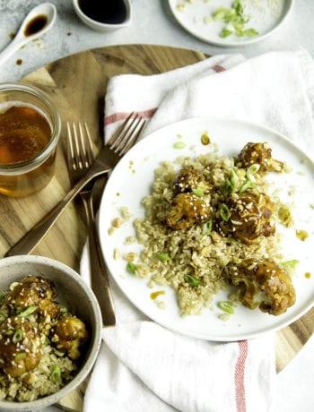 Kung Pao Cauliflower - Sarcastic Cooking #meatlessmonday