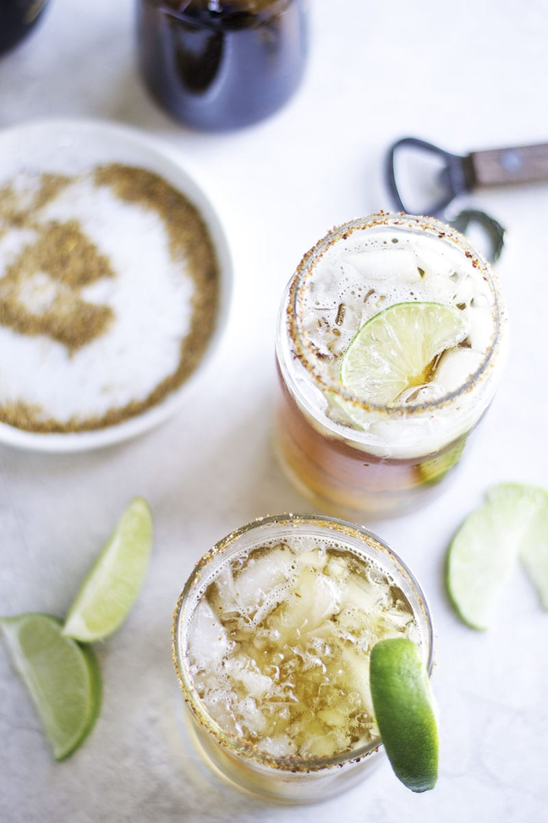 #MargaritaWeek Black and Green Margaritas - Sarcastic Cooking