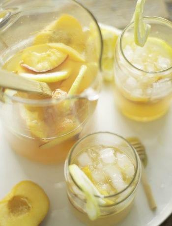 Peach Lemonade Vodka | Sarcastic Cooking