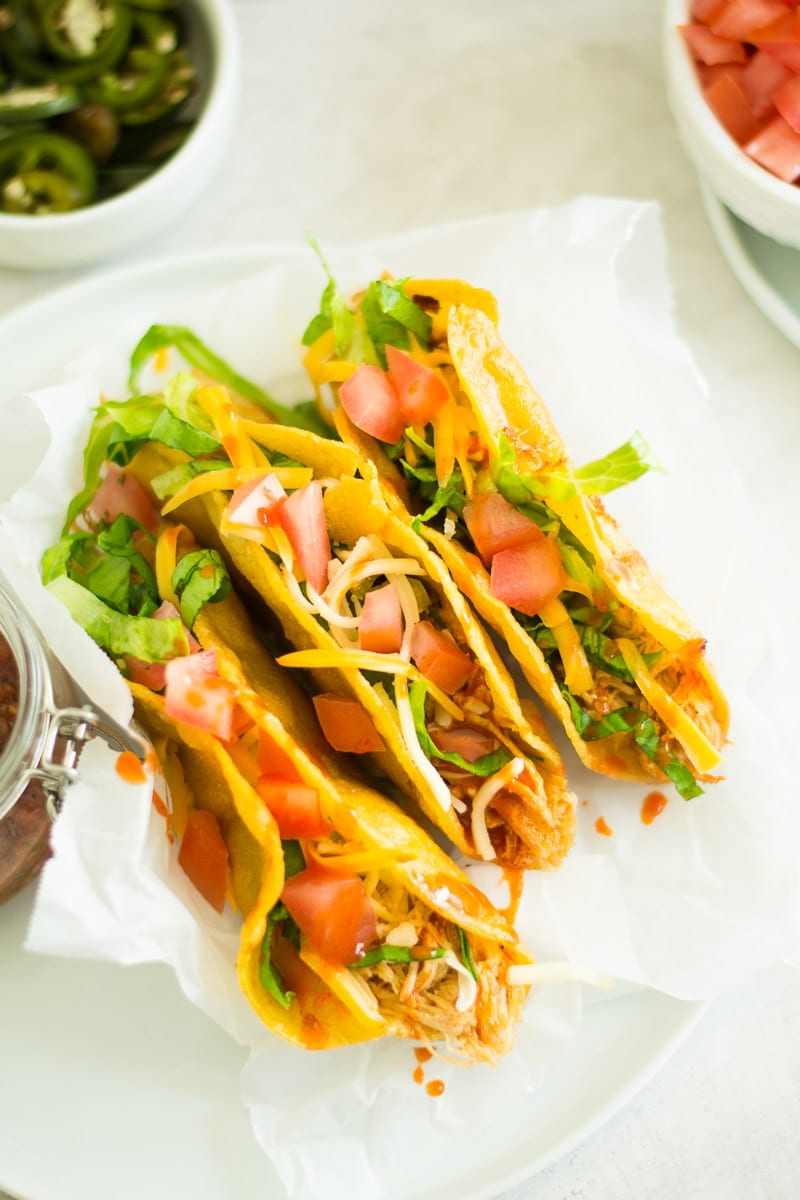 buffalo chicken puffy tacos   sarcastic cooking