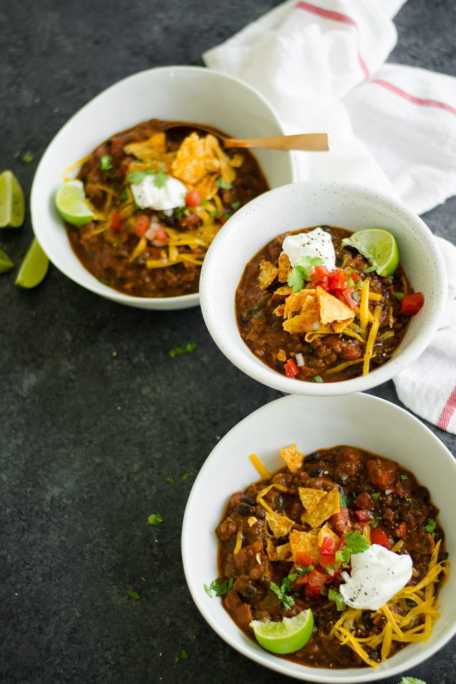 Bacon, Beef, & Pumpkin Chili for a hearty thick seasonal chili - sarcastic cooking