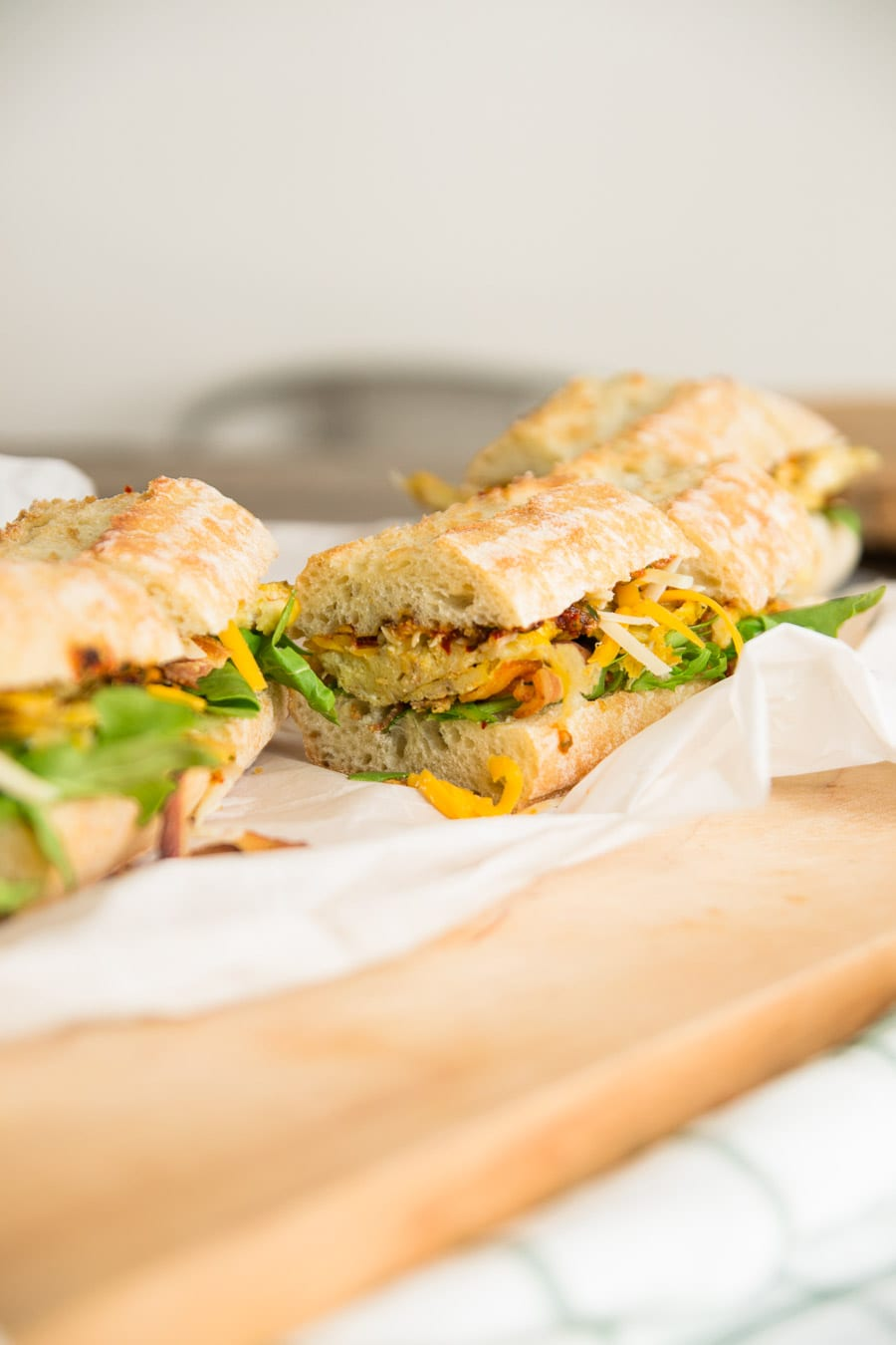Make Ahead Baguette Breakfast Sandwiches Sarcastic Cooking