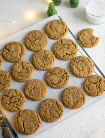 Ginger Molasses Cookies | Sarcastic Cooking
