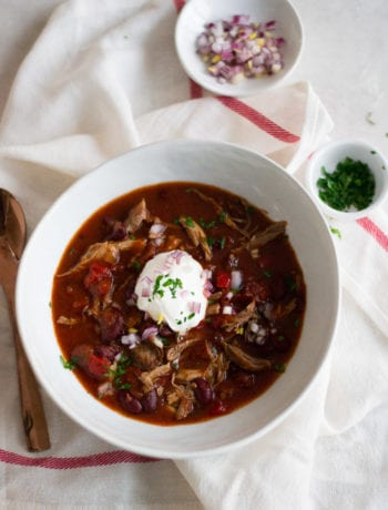 Harissa Pork Chili (slow cooker and Instant Pot recipes)   Sarcastic Cooking