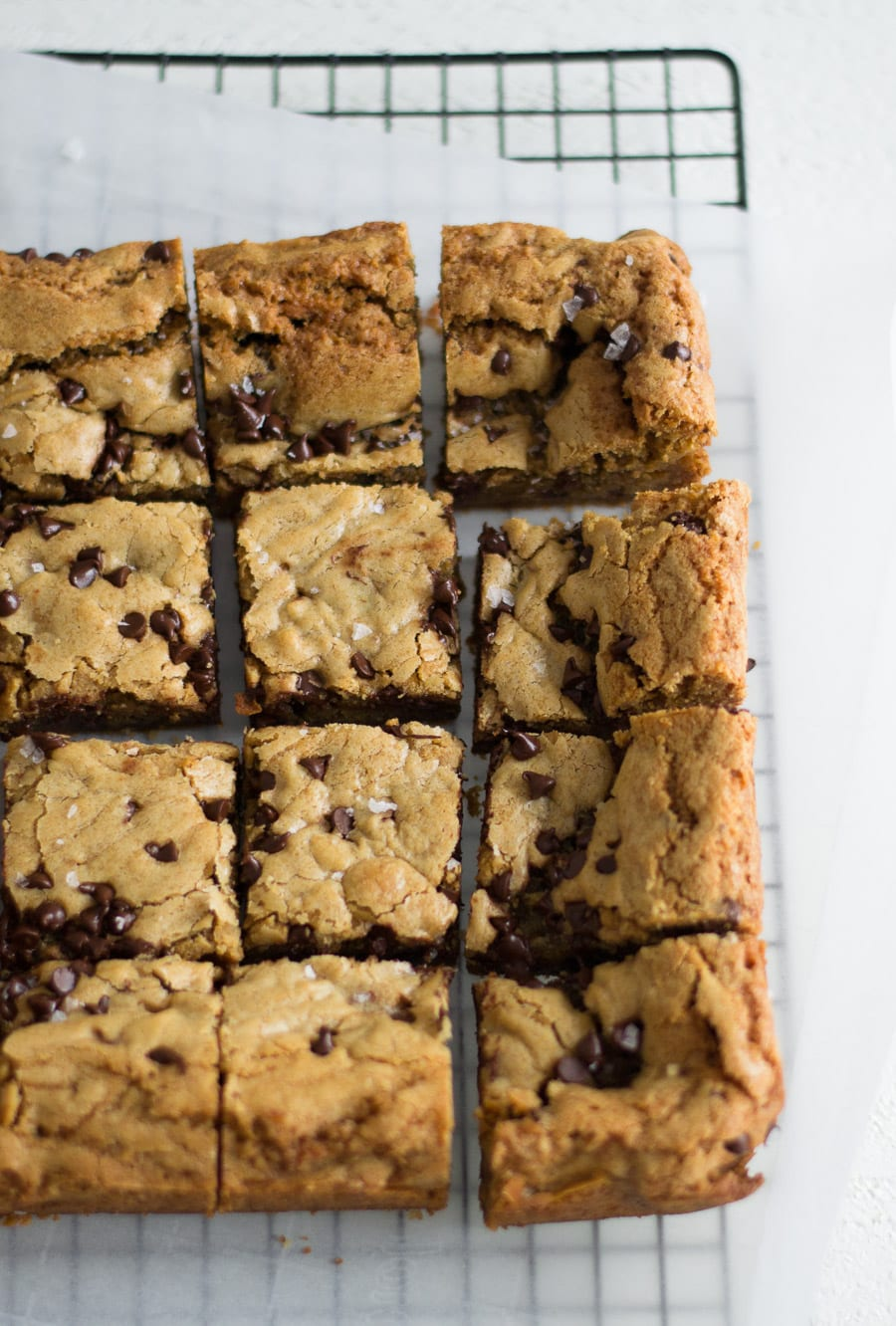 Gooey Chocolate Chip Cookie Bars | Sarcastic Cooking