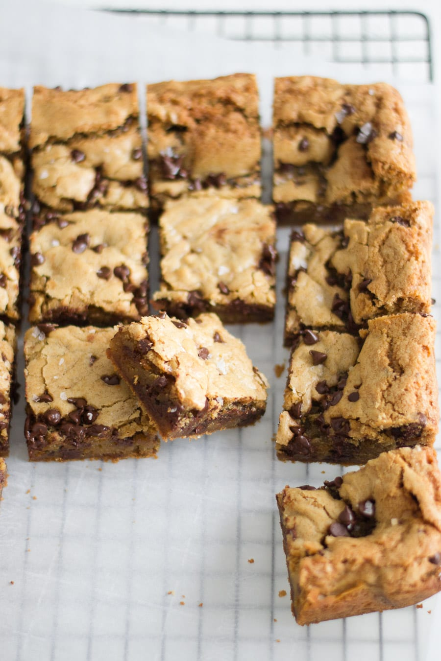 Easy Chocolate Chip Cookie Bars | Sarcastic Cooking