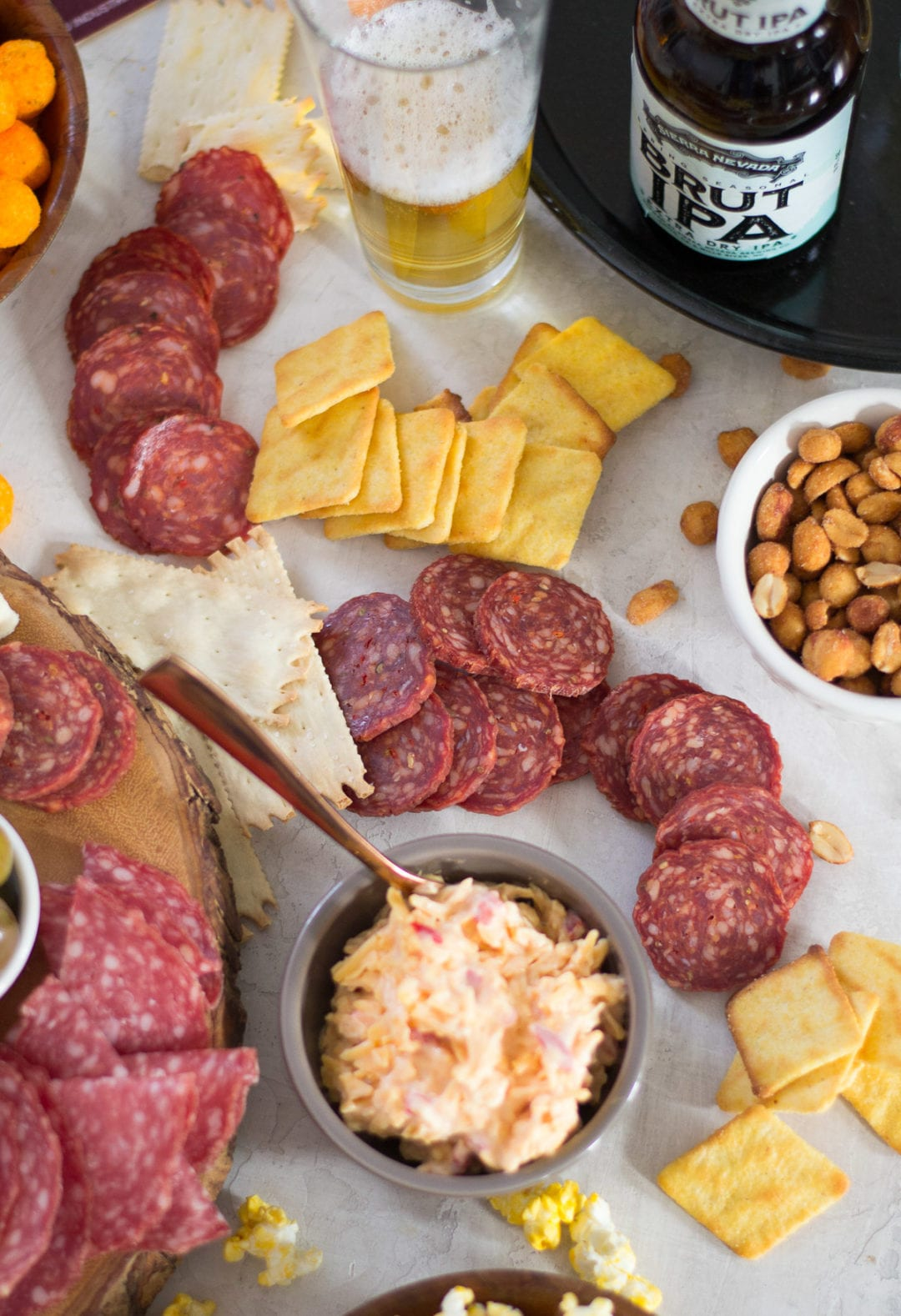 Classic March Madness Meat and Cheese Board with Olli Salumeria | Sarcastic Cooking