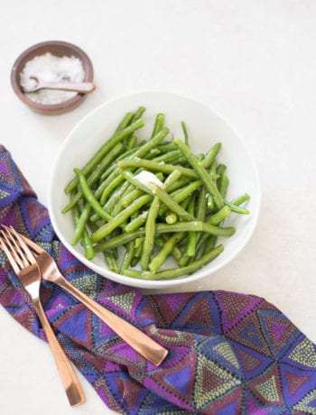 The Best Easy lemon Butter Green Beans | Sarcastic Cooking