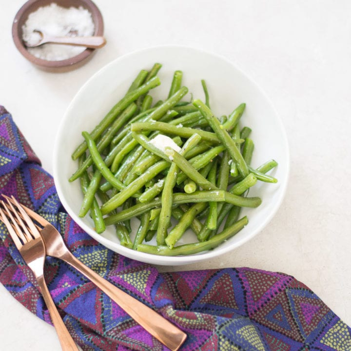 The Best Easy Lemon Butter Green Beans