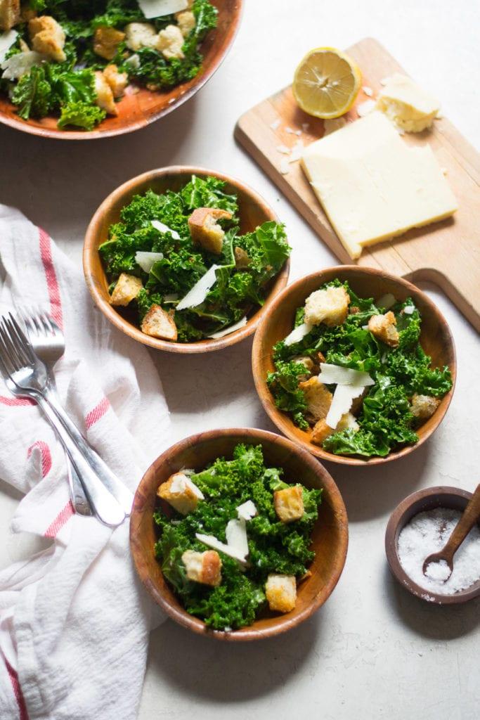 Simple Kale Panzanella | Sarcastic Cooking