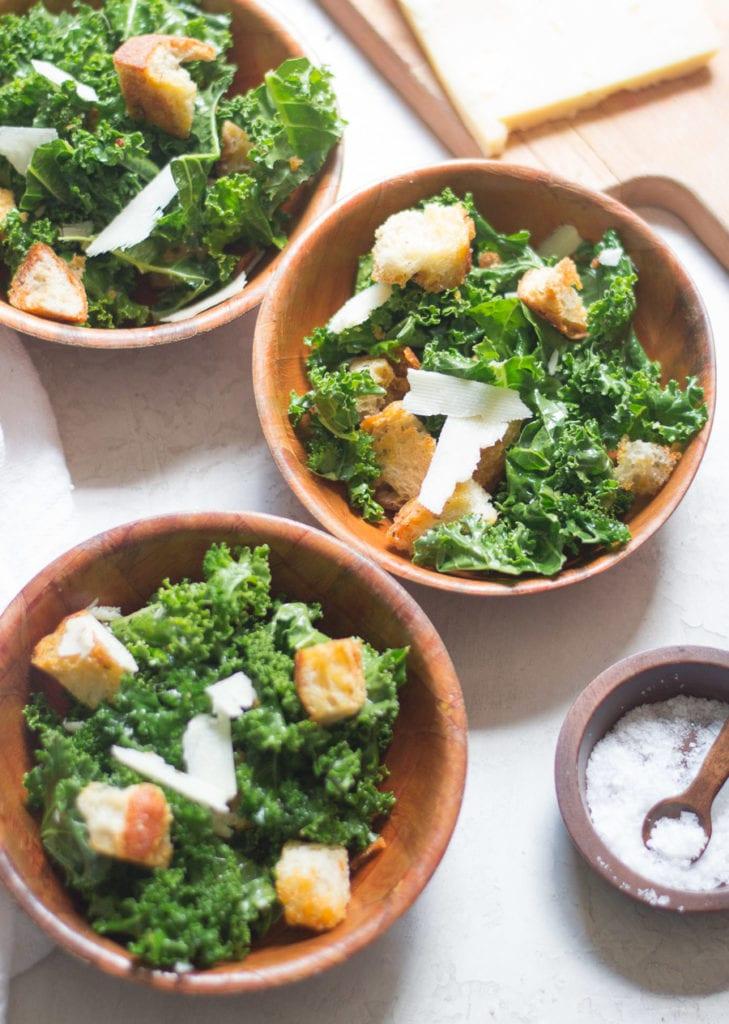 Kale Panzanella Salad | Sarcastic Cooking