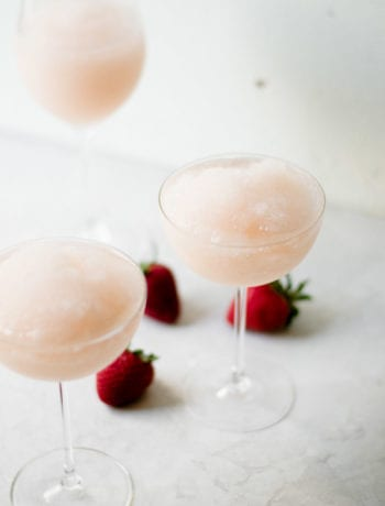 easy strawberry grapefruit frose | sarcastic cooking