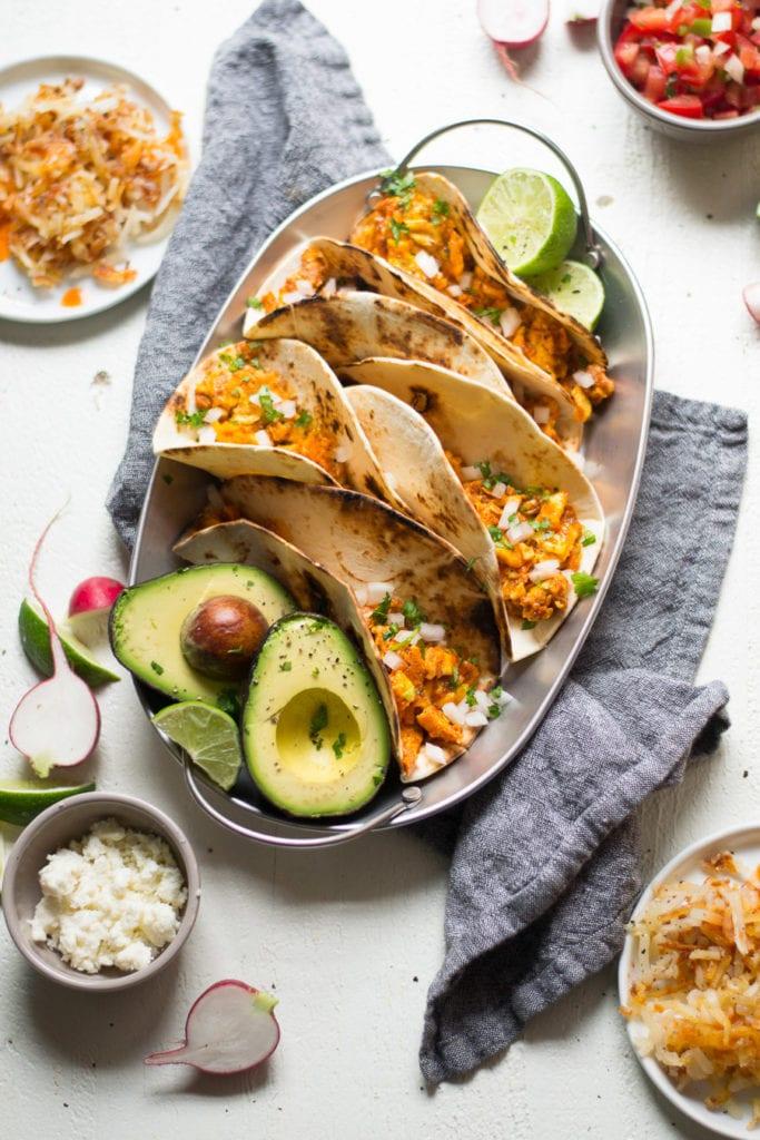 'Nduja Scrambled Egg Breakfast tacos | sarcastic cooking #breakfast #tacos #nduja