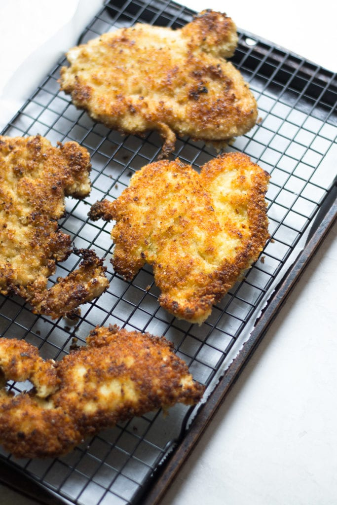 Chicken Schnitzel - Pickle and Jalapeño brined pan-fried chicken | Sarcastic Cooking