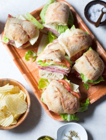 The Best Italian Subs - perfect for a picnic, party, or weekly lunches | Sarcastic Cooking