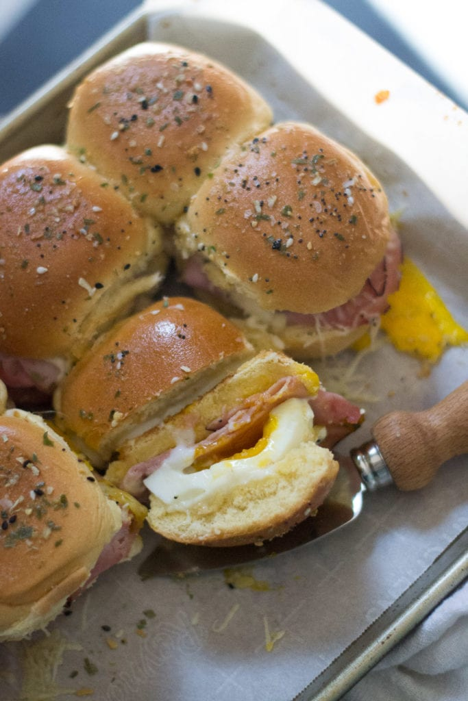 Croque Madame Slider | Sarcastic Cooking