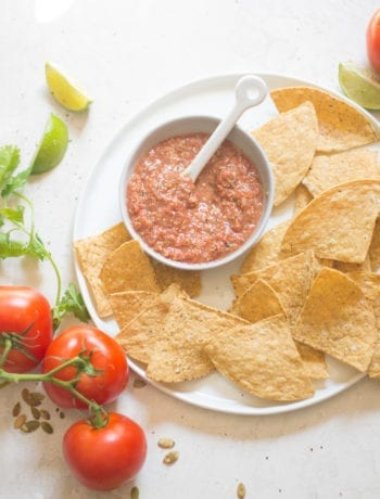 Copycat Trader Joe's Pepita Salsa | Sarcastic Cooking
