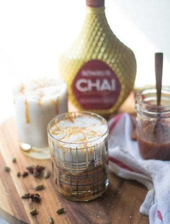 Spiked Salted Caramel Chai Latte | Sarcastic Cooking