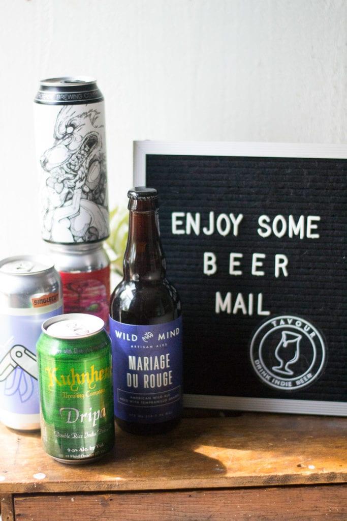 Craft Beer Mail with Tavour | Sarcastic Cooking