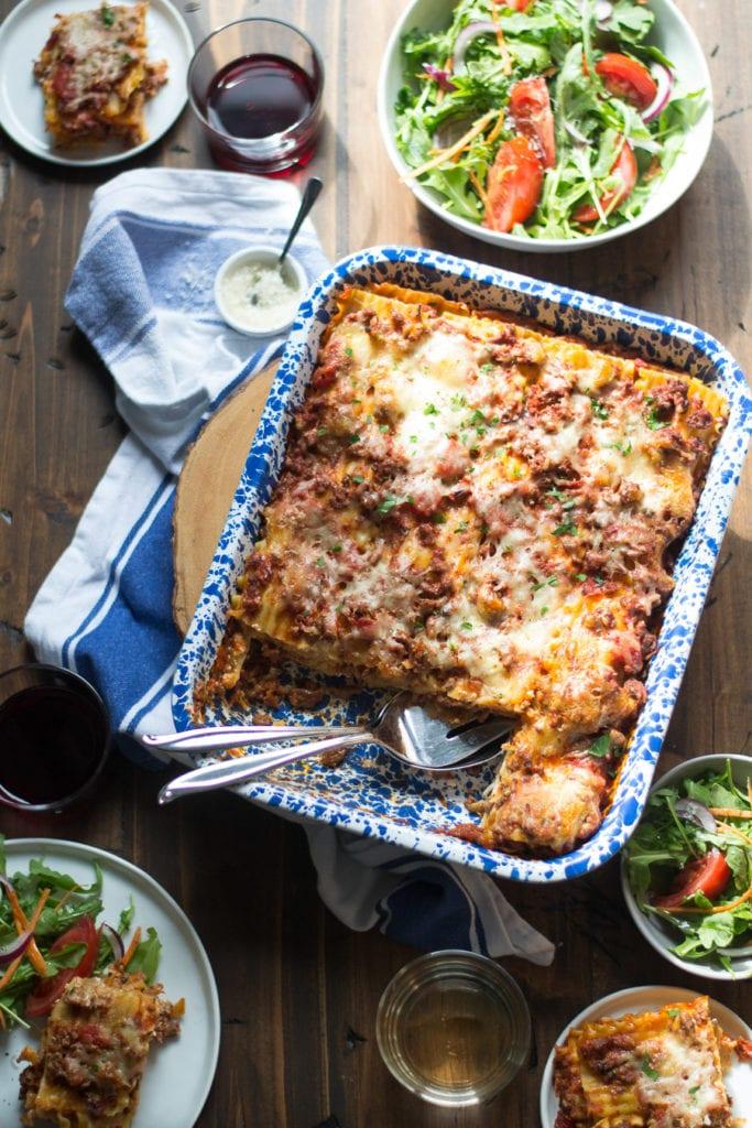 Classic Meat lasagna   Sarcastic Cooking
