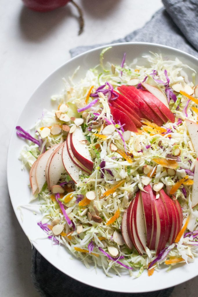 Apricot and Pear Slaw | Sarcastic Cooking