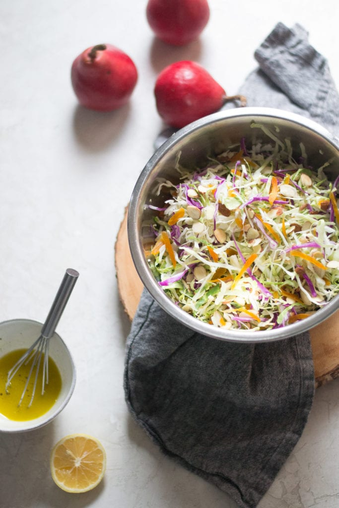 Apricot and Pear Fall Slaw Recipe | Sarcastic Cooking