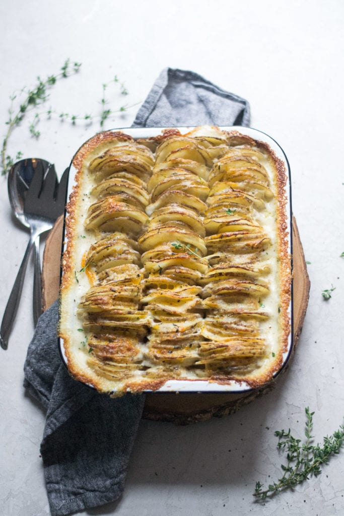 Easy Fancy Scalloped Potatoes | Sarcastic Cooking