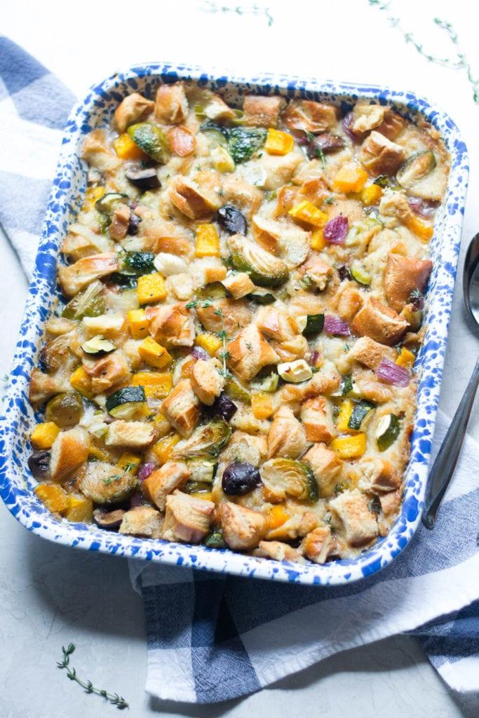 Squash and Mushroom Stuffing | Sarcastic Cooking