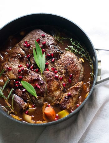Balsamic Pomegranate Pot Roast | Sarcastic Cooking