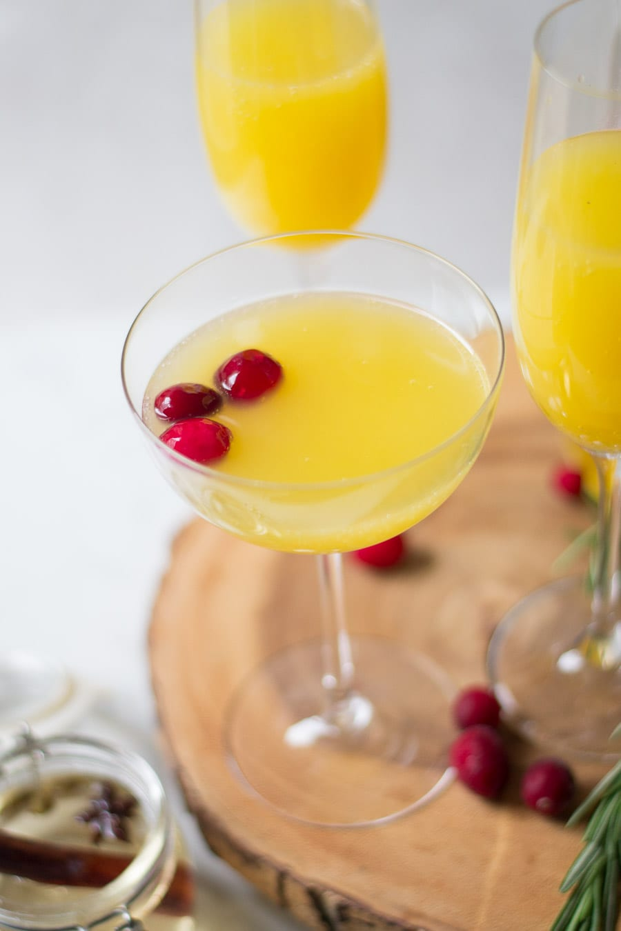 Spiced Mimosas | Sarcastic Cooking