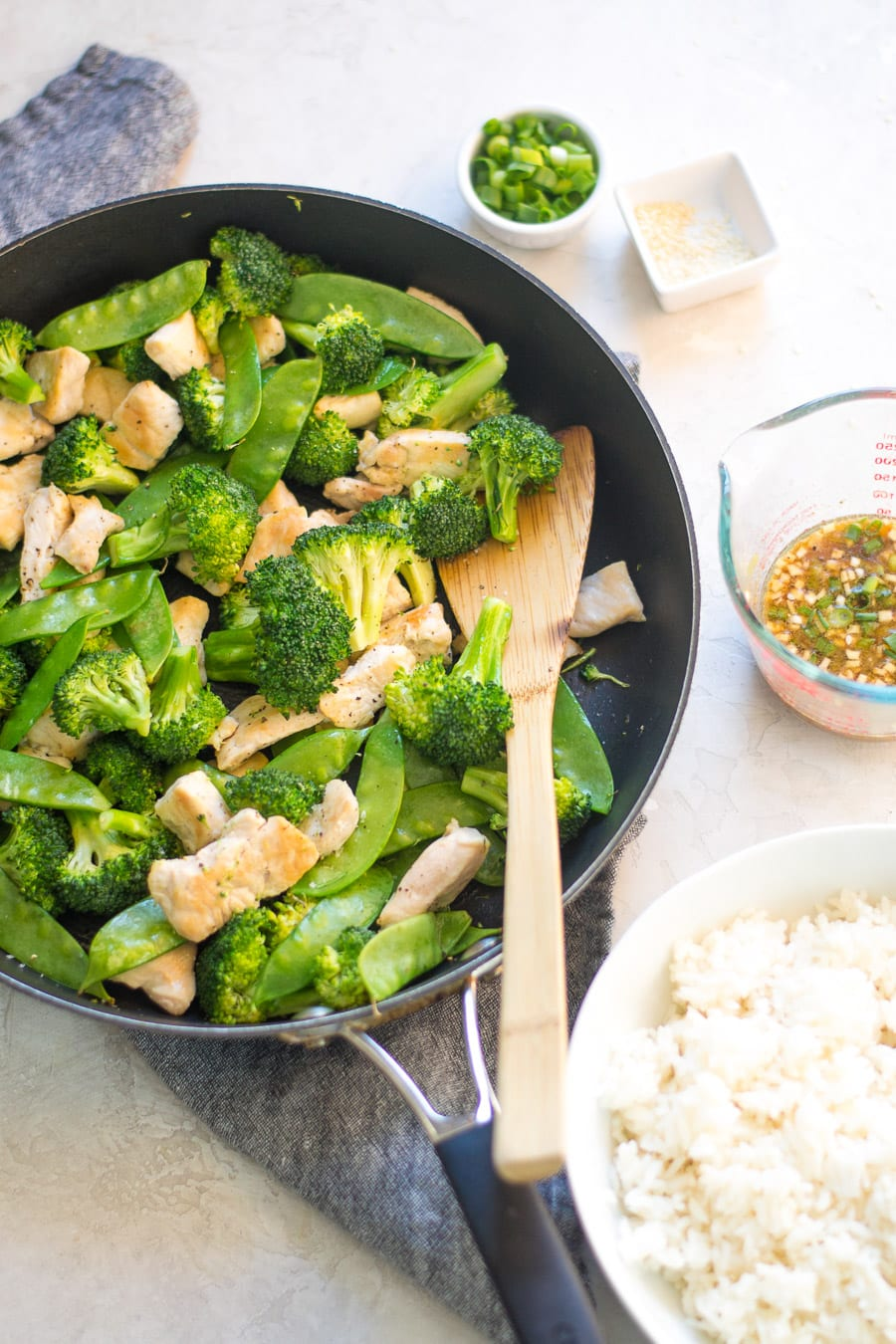 Chicken and Broccoli Stir Fry Ingredients | Sarcastic Cooking