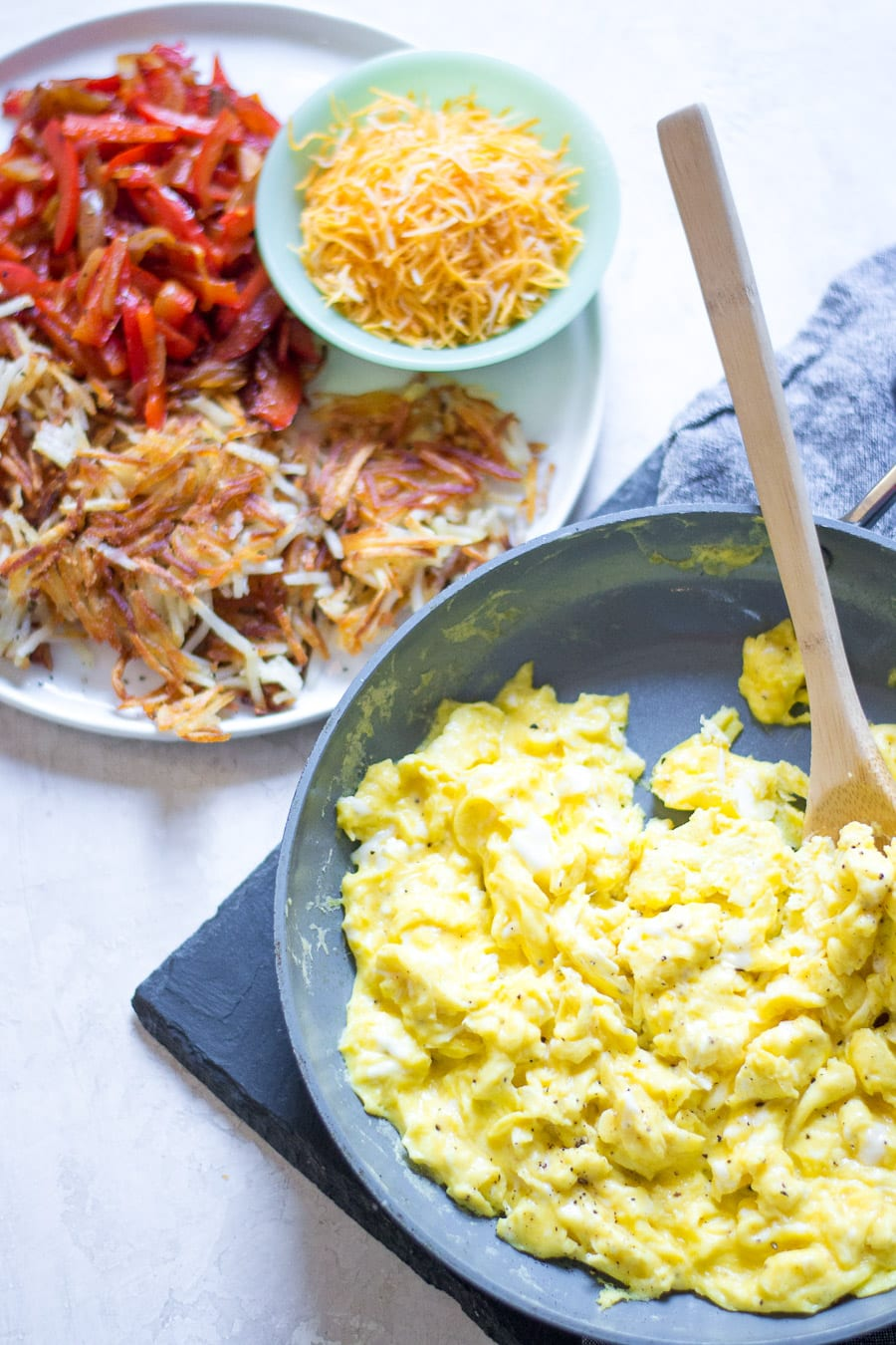 Make Ahead Breakfast Burrito Ingredients | Sarcastic Cooking