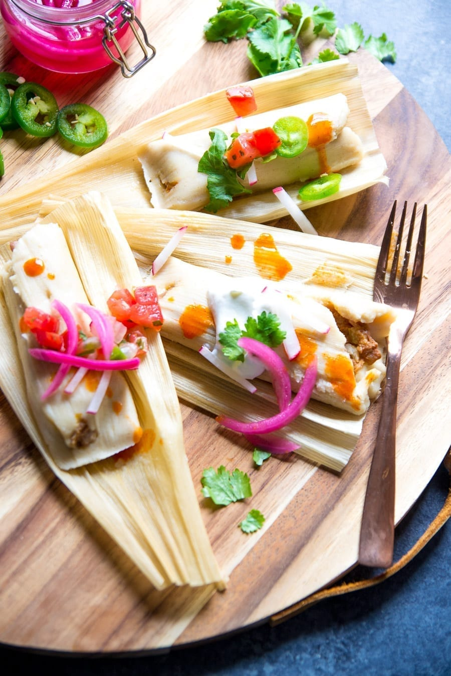 Instant Pot Steamed Tamales   Sarcastic Cooking