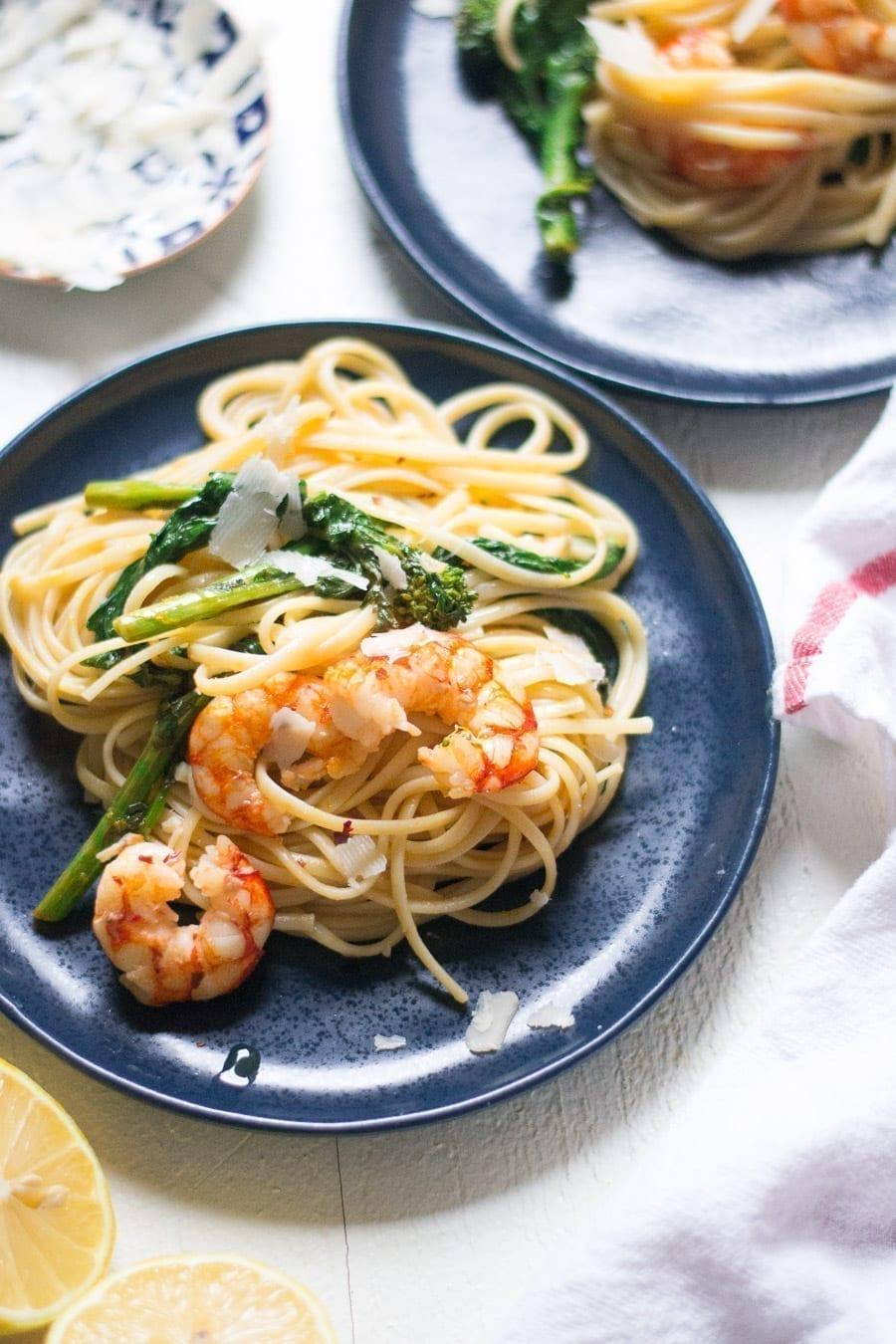Spicy Shrimp Linguine | Sarcastic Cooking