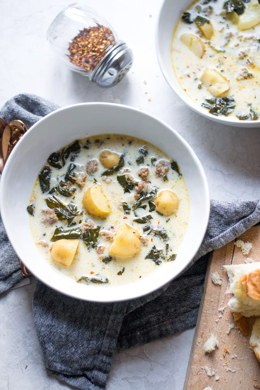 Slow Cooker and Instant Pot Zuppa Toscana | Sarcastic Cooking